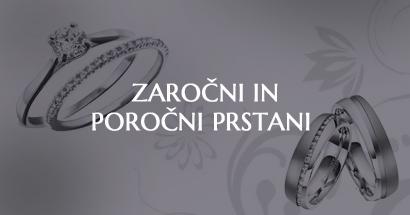 Zaročni in poročni prstani