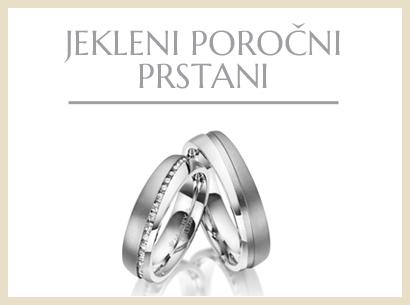 Jekleni poročni prstani