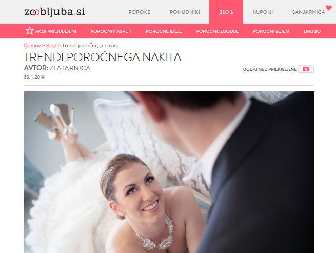 Zaobljuba.si: Trendi poročnega nakita