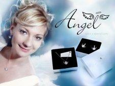Angel,nakit s sporočilom